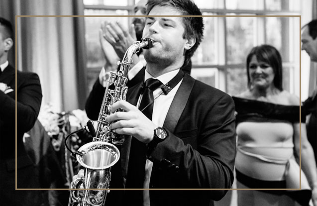 Wedding Band Hire Saxophone